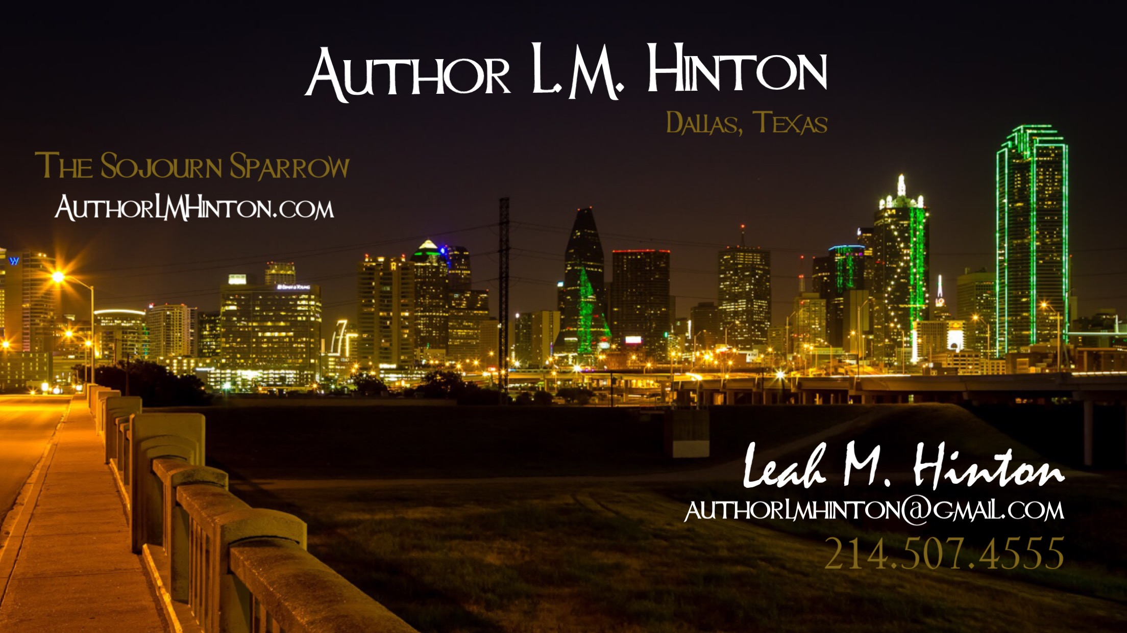 Author LM Hinton